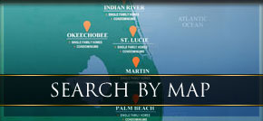 Search Stuart homes for sale by map