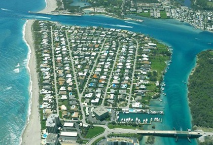 Jupiter Inlet Beach Colony homes for sale