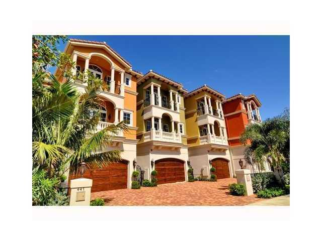 Ocean Vue Townhouses - Deerfield Beach, FL Townhomes for Sale