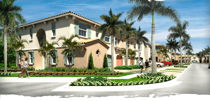 Trevi at the Garden s- Palm Beach Gardens, FL Townhomes for Sale