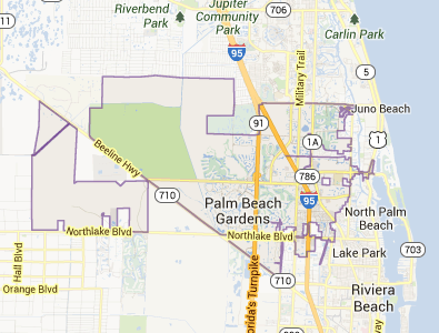 33418 in Palm Beach Gardens, FL