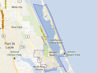 34957 in Jensen Beach and Hutchinson Island