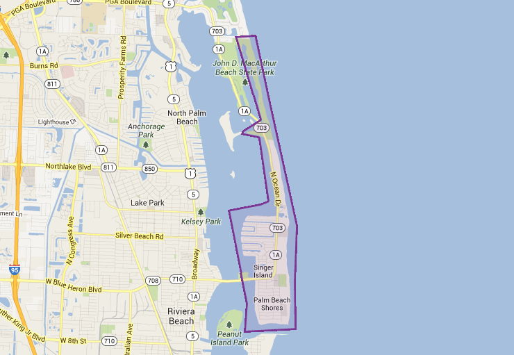 33404 in Singer Island, FL
